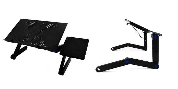 12,90€ από 25€ (-50%) για ένα Τραπεζάκι Laptop Αλουμινίου με Βάση για Ποντίκι, Ανεμιστήρα USB και Ρυθμιζόμενα Πόδια, με παραλαβή από το Idea Hellas στη Νέα Ιωνία και με δυνατότητα πανελλαδικής αποστολής στο χώρο σας.