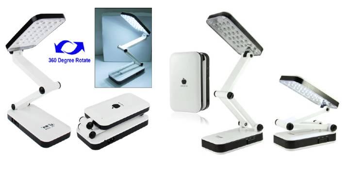 4,90€ από 9,90€ (-50%) για ένα Αναδιπλούμενο Φωτιστικό LED Γραφείου, με παραλαβή από το Idea Hellas και δυνατότητα πανελλαδικής αποστολής στο χώρο σας.