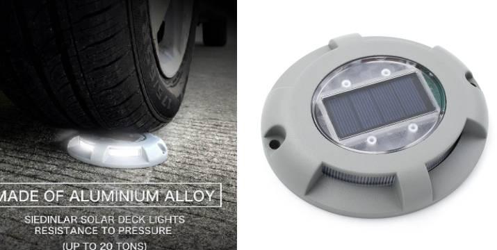 """11,90€ από 19,90€ (-40%) για ένα Ηλιακό Φωτιστικό Αλουμινίου Δαπέδου αντοχής με Αισθητήρα Φωτός 1τμχ, με παραλαβή ή δυνατότητα πανελλαδικής αποστολής στο χώρο σας από το """"Idea Hellas"""" στη Νέα Ιωνία."""