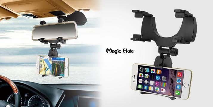 6,90€ από 14,90€ (-54%) για μια Βάση Στήριξης Κινητών, GPS, tablet στον καθρέπτη του αυτοκινήτου με ρυθμιζόμενη κλίση, με παραλαβή από το κατάστημα MagicHole στο Παγκράτι και με δυνατότητα πανελλαδικής αποστολής.