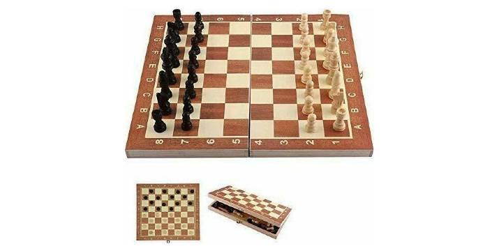 7,90€ από 15,90€ (-50%) για ένα Ξύλινο Επιτραπέζιο Παιχνίδι Σκάκι και Τάβλι 25x25 cm, με παραλαβή από το κατάστημα Magic Hole στο Παγκράτι και με δυνατότητα πανελλαδικής αποστολής.