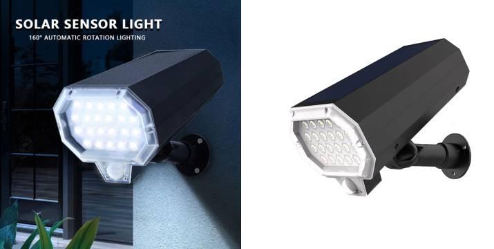 """19,90€ από 39,90€ (-50%) για ένα Ηλιακό Φωτιστικό 22LED σε Σχήμα Κάμερας & Αισθητήρα Κίνησης, με παραλαβή από το """"Idea Hellas"""" στη Νέα Ιωνία και δυνατότητα πανελλαδικής αποστολής."""