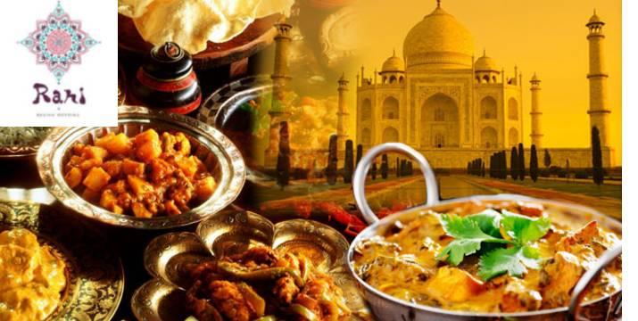 9,90€ από 20€ (-50%) για Ινδική Κουζίνα με Ελεύθερη Επιλογή από τον Κατάλογο (Dine-in & Take-away), στο Rani Indian Cuisine στο Χαλάνδρι.
