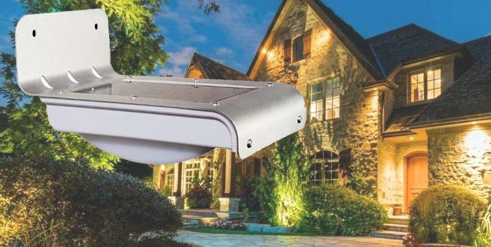 """11,90€ από 25€ (-52%) για ένα Ηλιακό Φωτιστικό Κήπου από ανθεκτικό αλουμίνιο με 16 LED,με παραλαβή ή δυνατότητα πανελλαδικής αποστολής στο χώρο σας από το """"Idea Hellas"""" στη Νέα Ιωνία."""