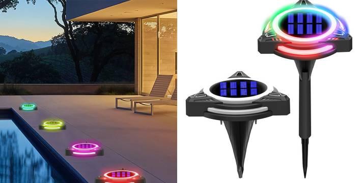5,90€ από 12€ (-50%) για ένα Led ηλιακό φωτιστικό εξωτερικού χώρου δαπέδου δίσκος RGB με αλλαγή 7 διαφορετικών χρωμάτων, με παραλαβή ή δυνατότητα πανελλαδικής αποστολής στο χώρο σας από το Idea Hellas στη Νέα Ιωνία.